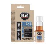 K2 injektor tisztító diesel üzemanyag adalék 50ml