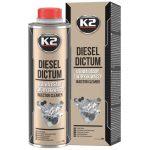 K2 DICTUM injektor tisztító diesel üzemanyag adalék 500ml