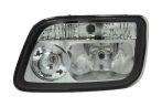 Mercedes Actros II. fényszóró BAL motoros