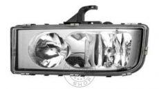 Mercedes Axor II. fényszóró BAL búra