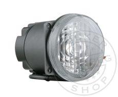 LED ködfényszóró 12/24V kerek beépíthető