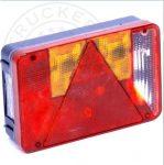 Hátsó lámpa 6 funkciós háromszögprizmás JOBB