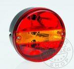 Kör hátsó lámpa 3 funkciós JOBB (kristály)