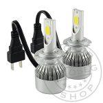 LED fényszóró izzó H7 12/24V Párban