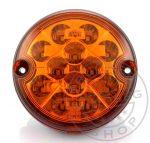 LED lámpa kerek index 12/24V csatlakozós