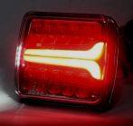 LED hátsó lámpa kocka 12/24V dinamikus JOBB