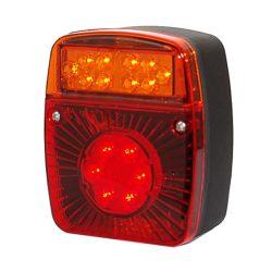 LED hátsó lámpa 7 kamrás bal 1224V TruckerShop Kamion f