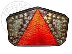FULL LED hátsó lámpa 7 funkciós háromszög prizmával BAL