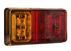 LED hátsó lámpa 3 funkciós kicsi BAL/JOBB 10-30V