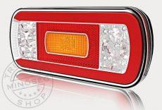FULL LED hátsó lámpa 6 funkciós JOBB