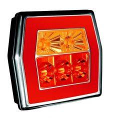 Design LED hátsó lámpa kocka 12/24V 3funkciós