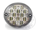 LED lámpa kerek tolató 12/24V csatlakozós