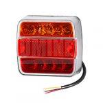 Full LED hátsó lámpa kocka 12/24V 3funkciós+rendszám vill.