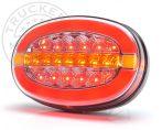 FULL LED hátsó lámpa OVÁLIS 12/24V