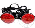 FULL LED vendéglámpa szett kerek, NEON+DINAMIKUS 12/24V