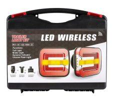Vezeték nélküli LED vendéglámpa szett 12V kofferben