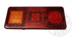 LED traktor hátsólámpa 12/24V