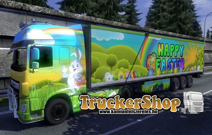 Kellemes Húsvéti Ünnepeket Kíván a TruckerShop!